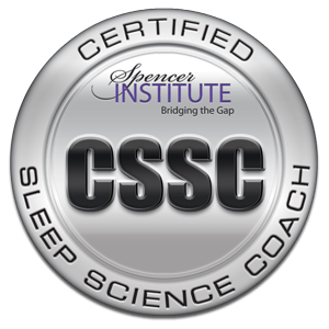 certified sleep science coach badge