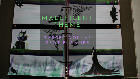 Maleficent Weekly Theme for the Target Dollar Spot Planner