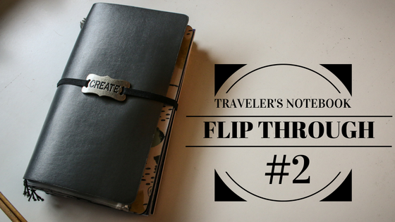 Traveler's Notebook Flip Through #2
