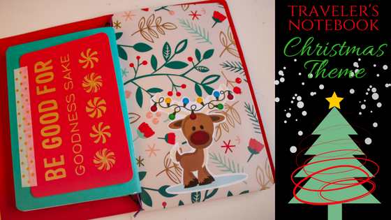 Traveler's Notebook Christmas Theme