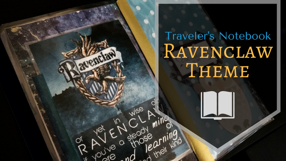 Ravenclaw Traveler's Notebook Theme