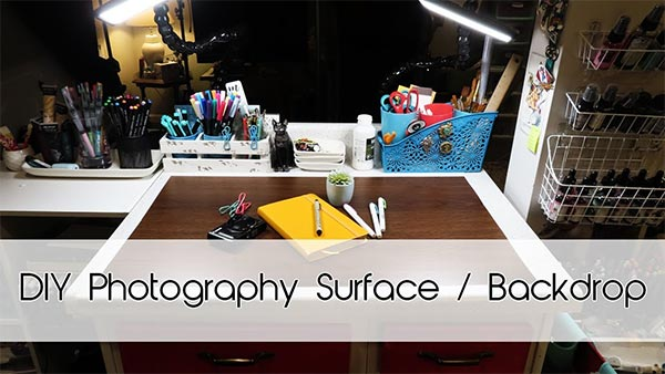DIY Photography Surface and Background