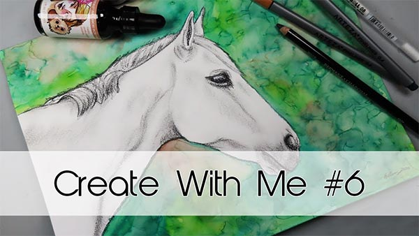 Create With Me #6 | Horse Portrait