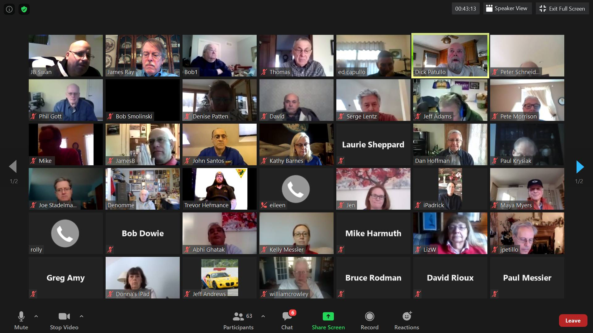 2021 NER Annual Meeting Recap