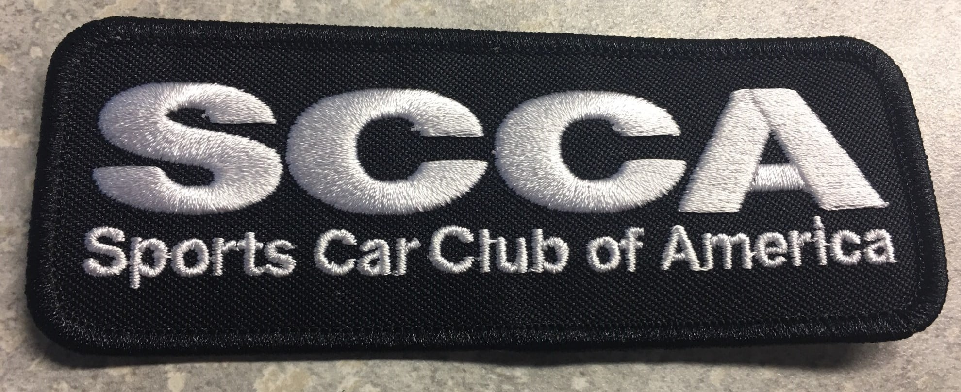 New for 2021: Driver SCCA Patches