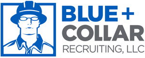 Blue Collar Recruiting Logo