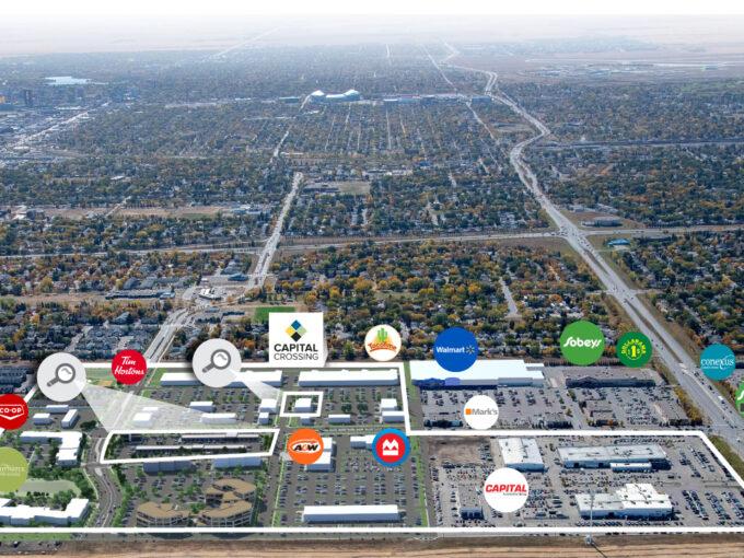 Capital Crossing and Commons Regina SK