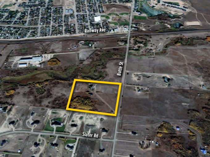 Redevelopment Site SE-33-17-18-W2 Pilot Butte