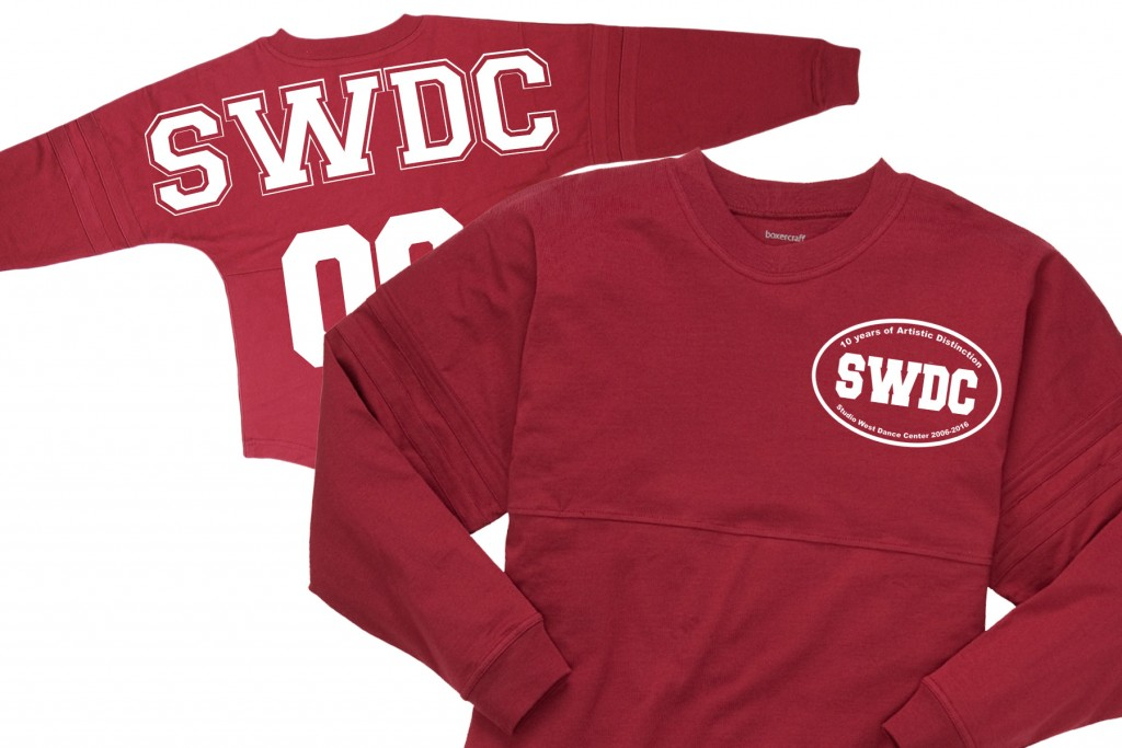 SWDC 10 Year Anniversary Jersey