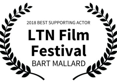 Outside Arcadia - LTN Film Festival - BEST SUPPORTING ACTOR - Bart Mallard