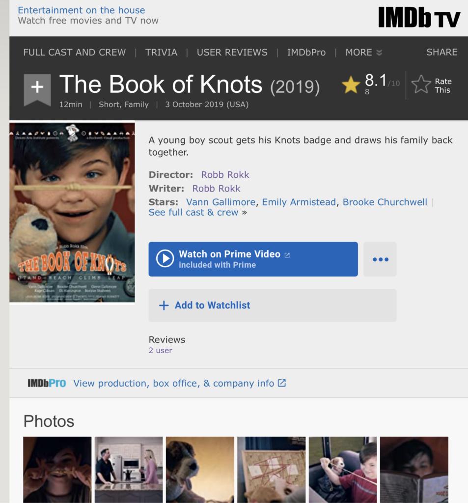 The Book of Knots IMDB