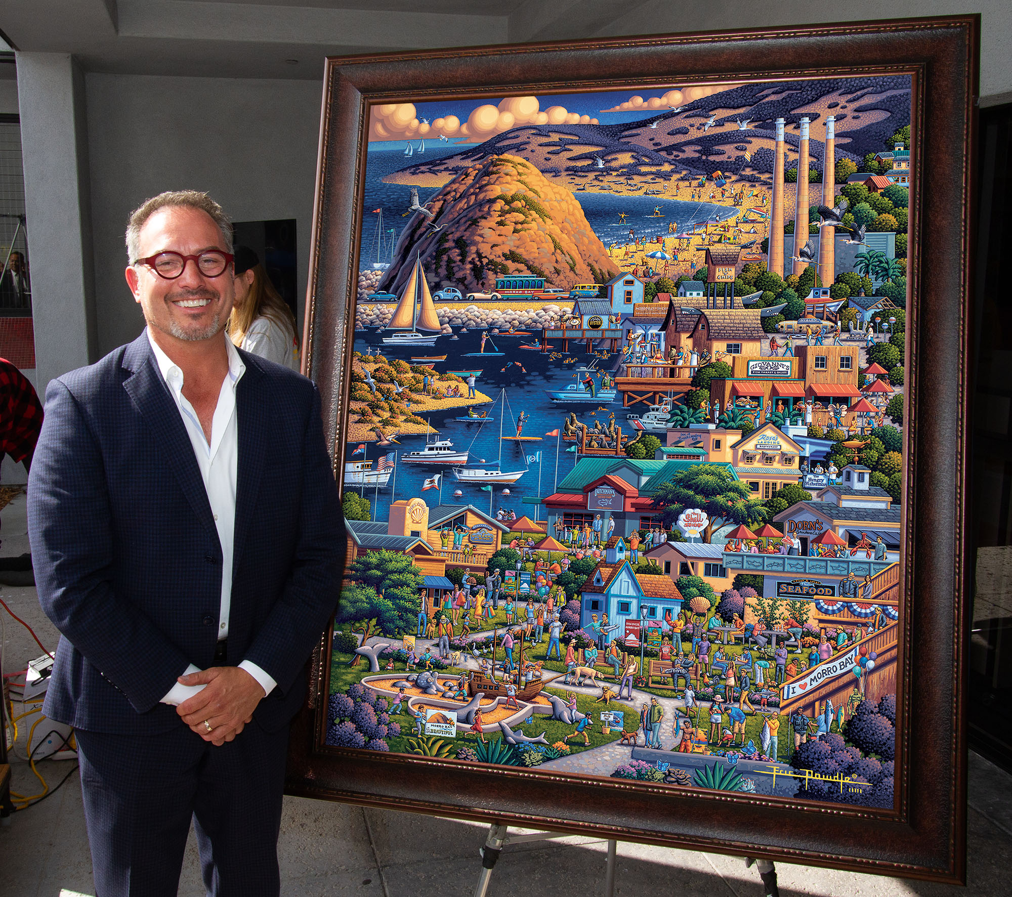 Eric Dowdle and the Morro Bay Puzzle