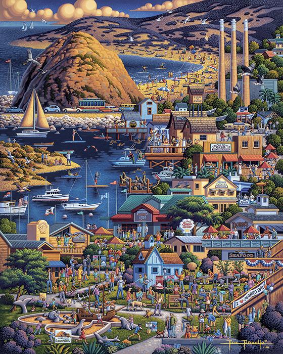 Eric Dowdle's Morro Bay puzzle
