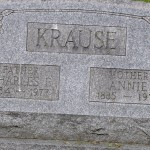 "Charles ""Pop"" & Annie ""Mom"" Krause, Laurel Trinity Cemetery, Jennerstown, PA"
