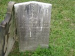 Susanna Allison stone in old Pine Creek Cemetery, Allison Park, PA
