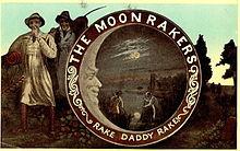 Commemorative Moonrakers postcard (1903)