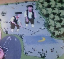 Legendary Moonrakers mural Trowbridge, Wiltshire