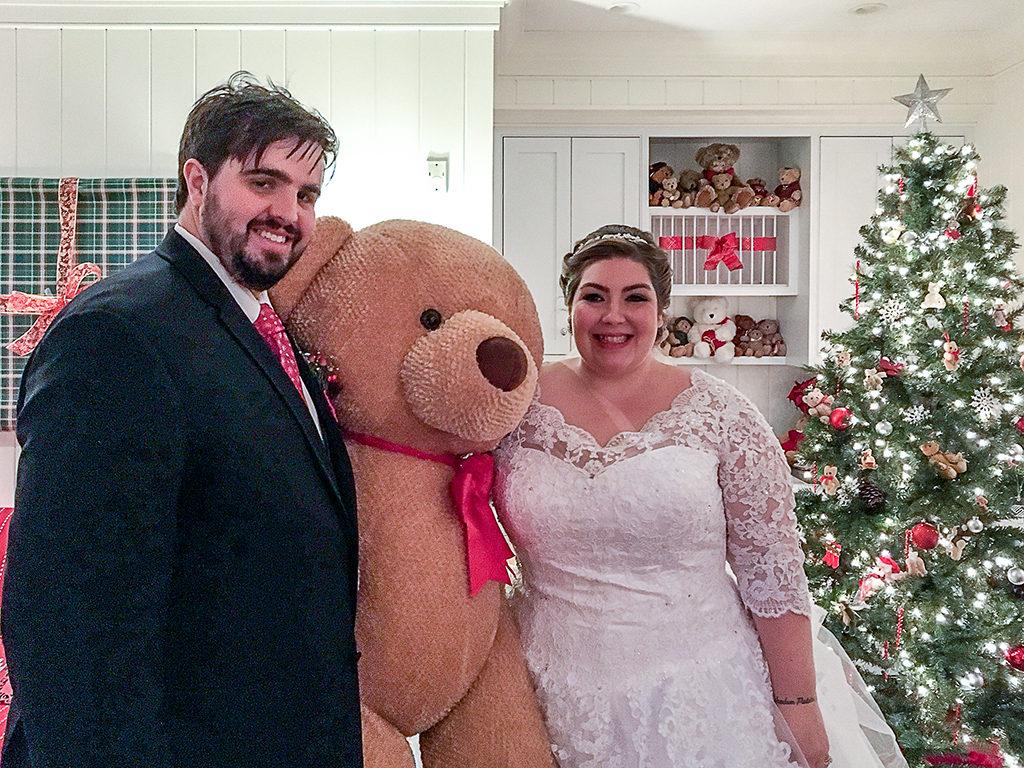 Martha's Vineyard Teddy Bear Suite Hosts Bride & Groom At Harbor View Hotel Edgartown