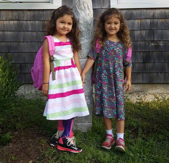 Martha's Vineyard Boys & Girls Club After School Program Hungry Healthy Kids: Annabelle & Maaddison Smith