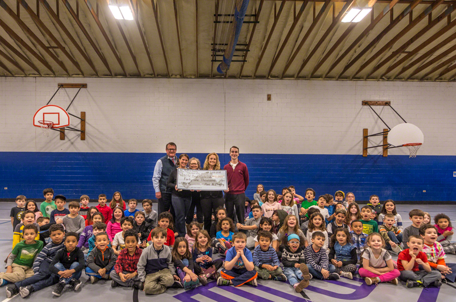 Point B Realty Presents $41,000 Fundraiser Check To the Martha's vineyard Boys & Girls Club For the Teddy Bear Suite Fundraiser