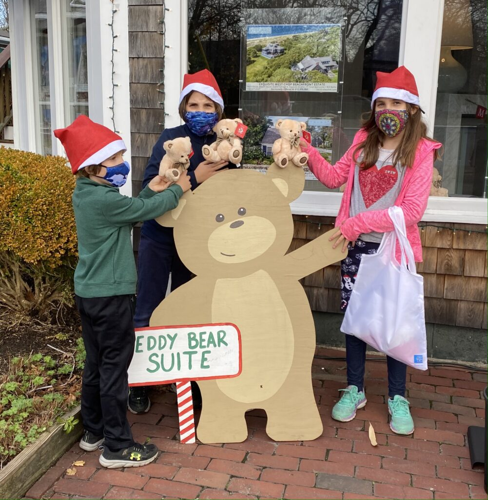 Martha's Vineyard Teddy Bear Suite Giving Tuesday Martha's Vineyard Boys & Girls Club Martha's Vineyard Christmas in Edgartown