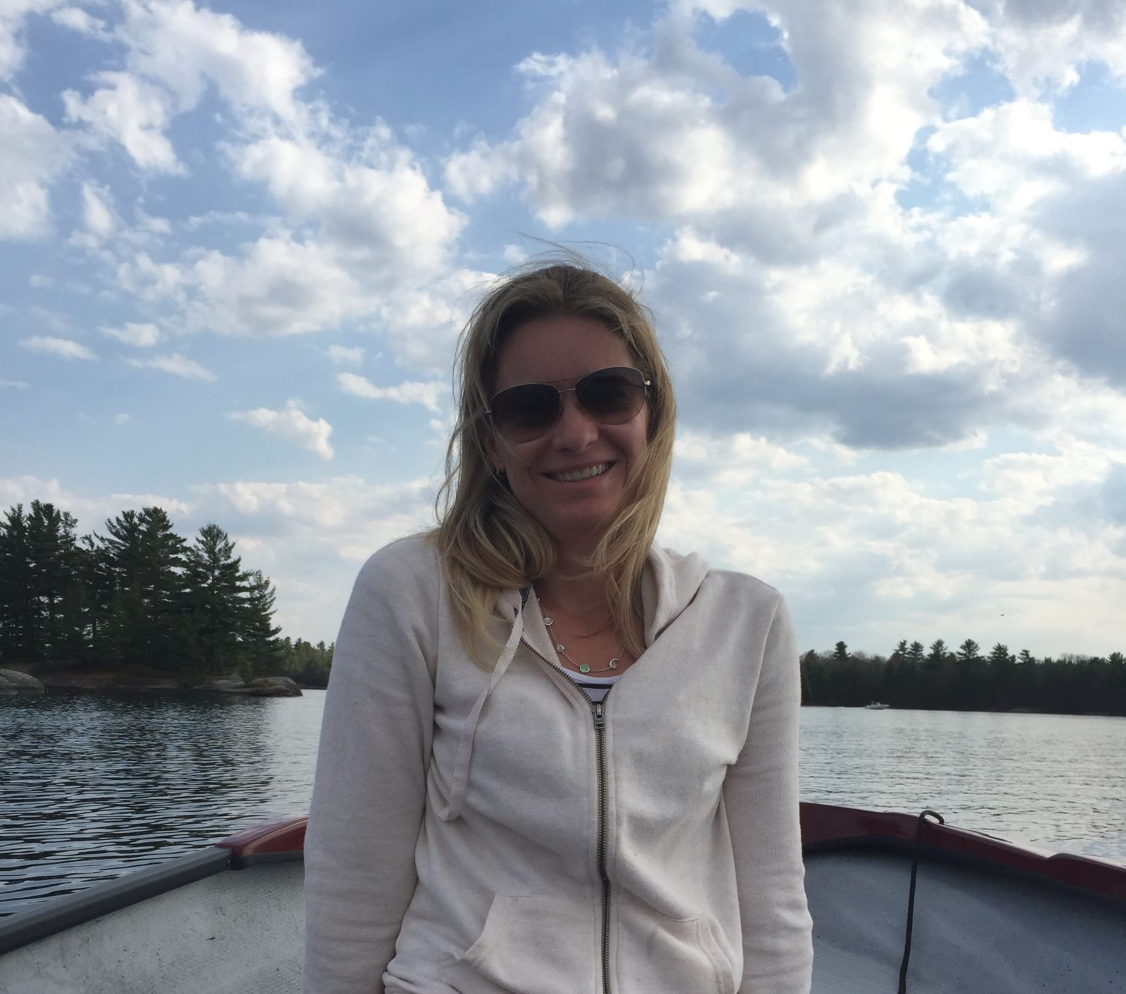 Brand for Benefit founder Carolyn Ansley on Kahshe Lake
