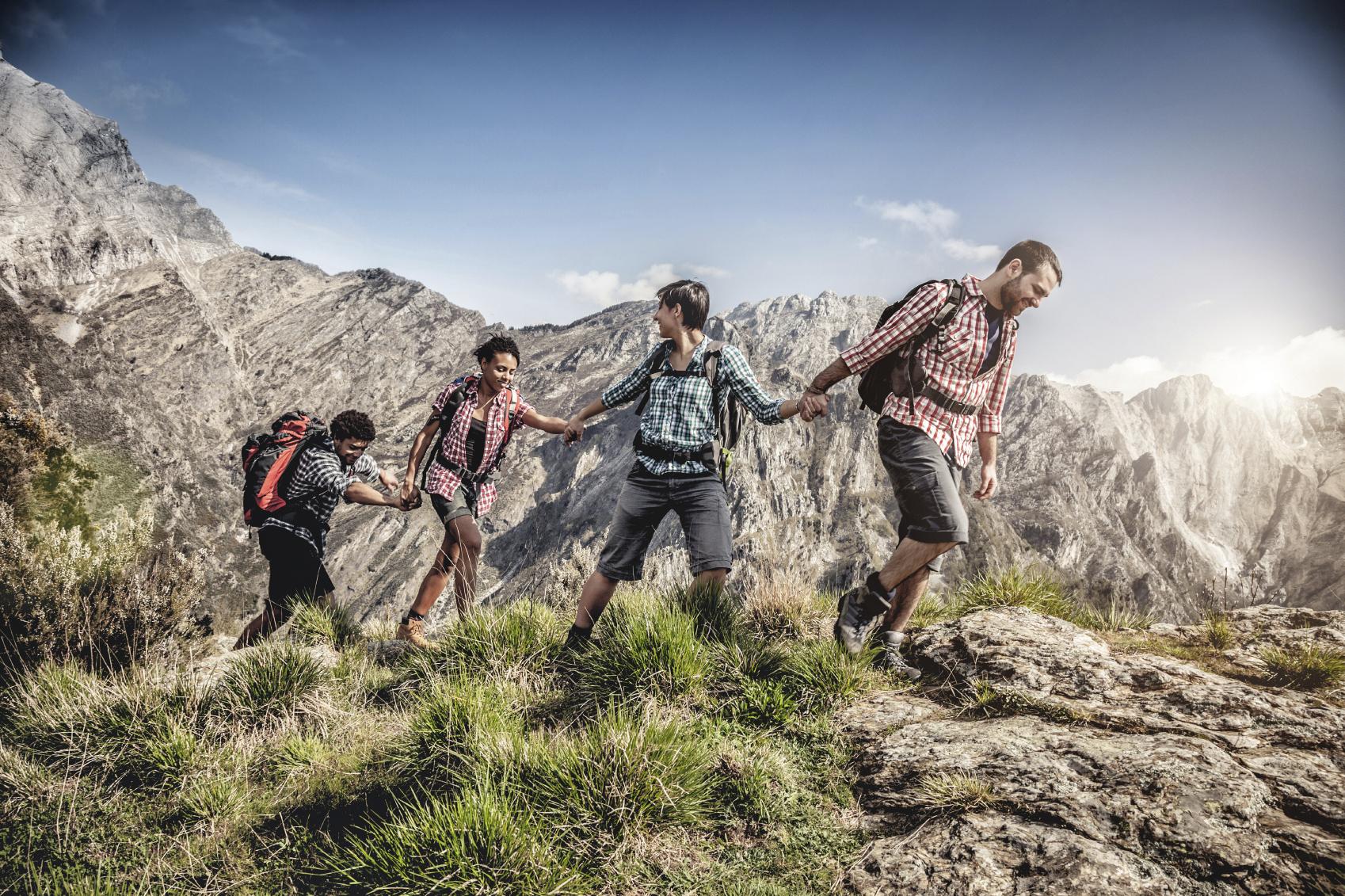 Rock Climber Friends