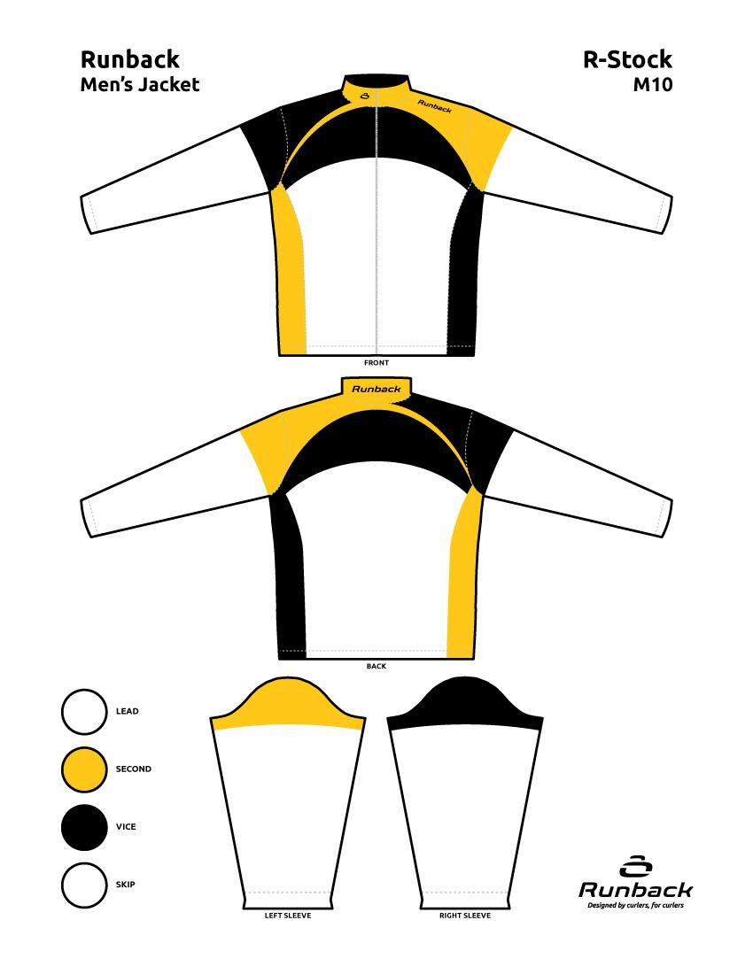 Runback Curling Jacket Stock Design M10