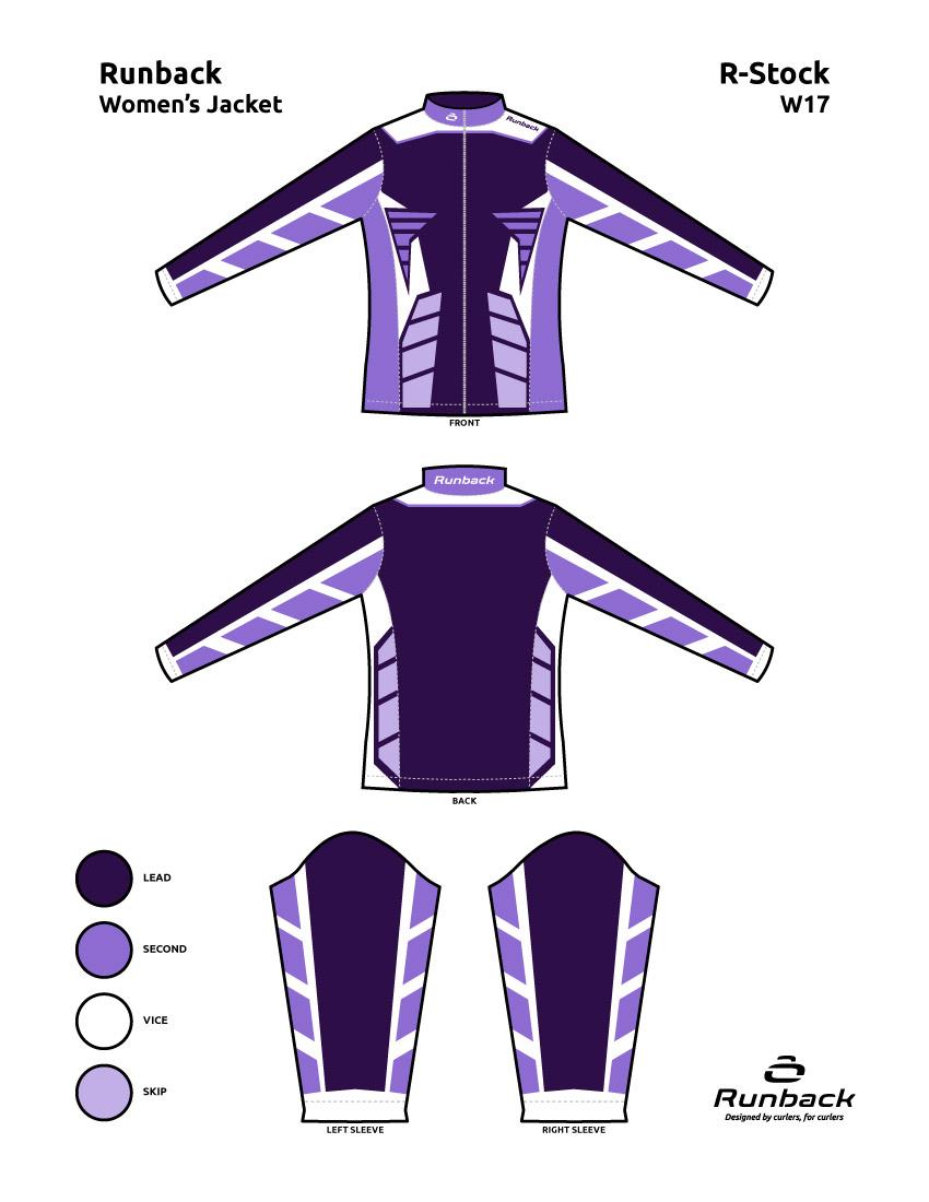 Runback Curling Jacket Stock Design W17