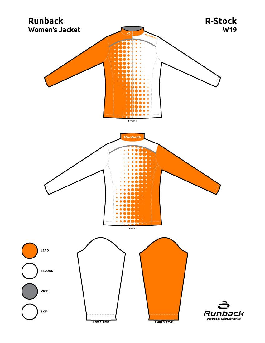 Runback Curling Jacket Stock Design W19