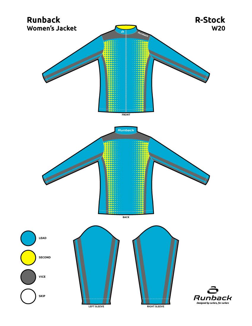 Runback Curling Jacket Stock Design W20