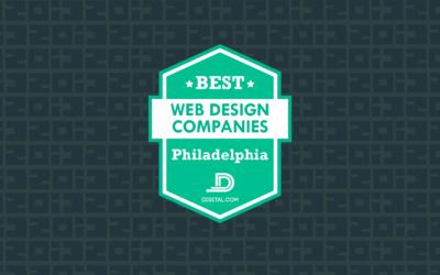 Named One of Philadelphia's Top Web Design Firms by Digital.com