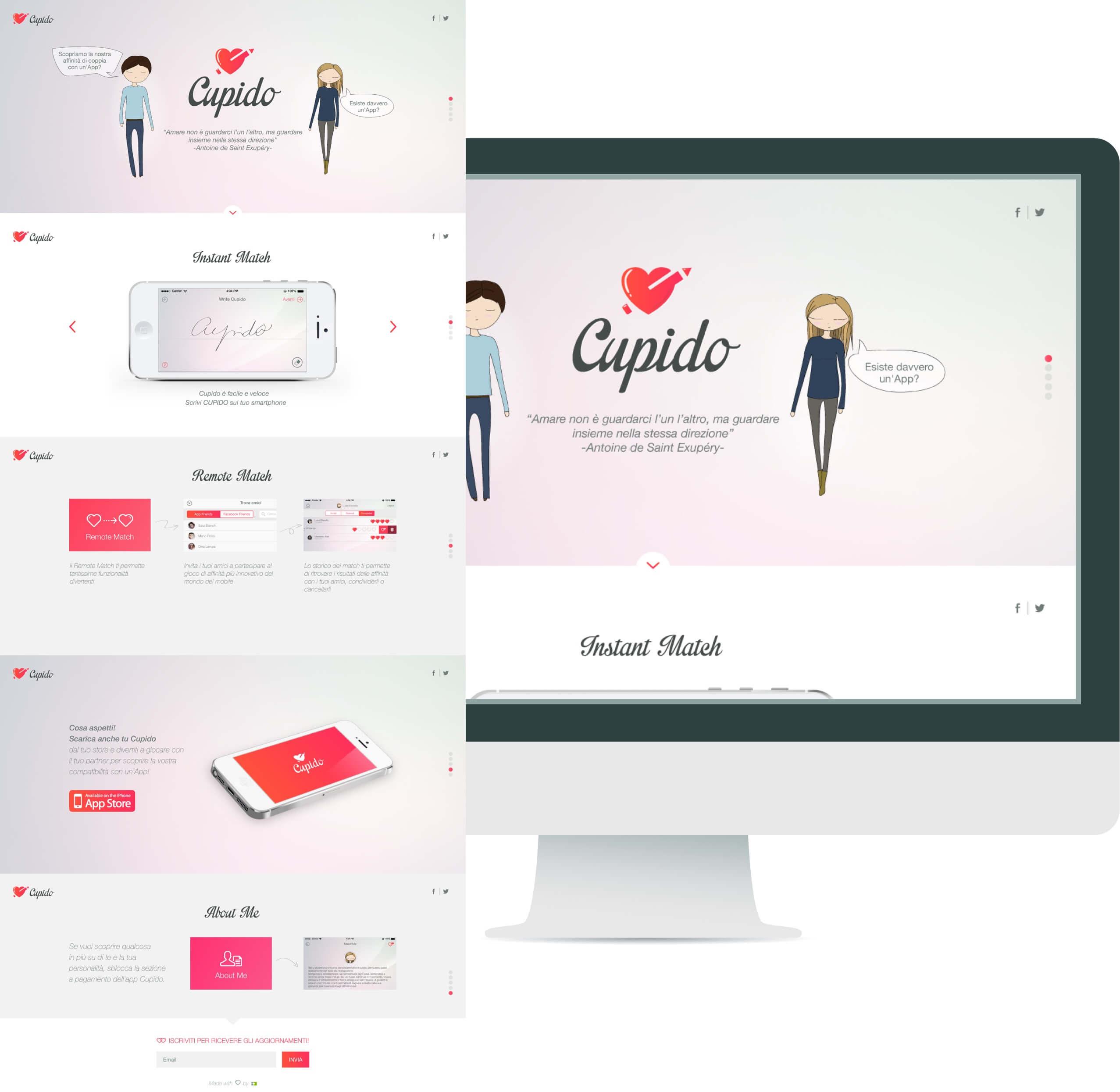 cupido-website