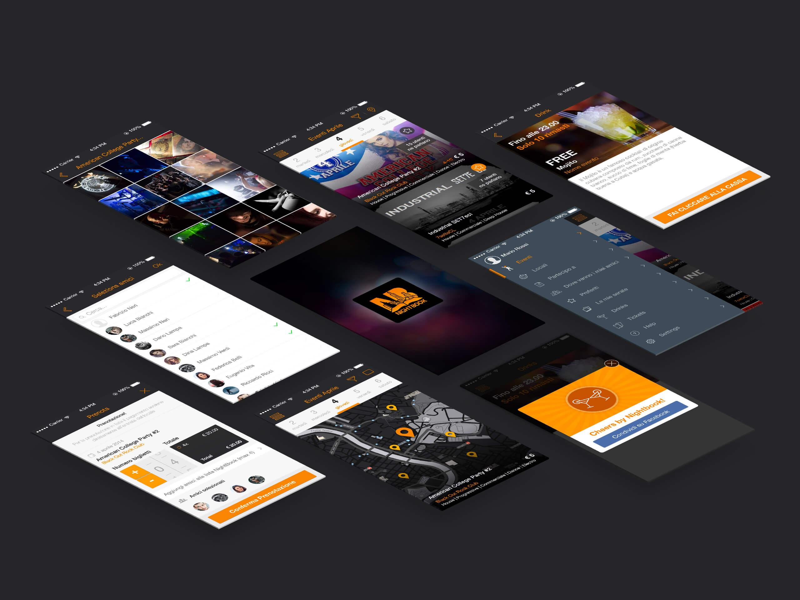 nightbook-app_screens
