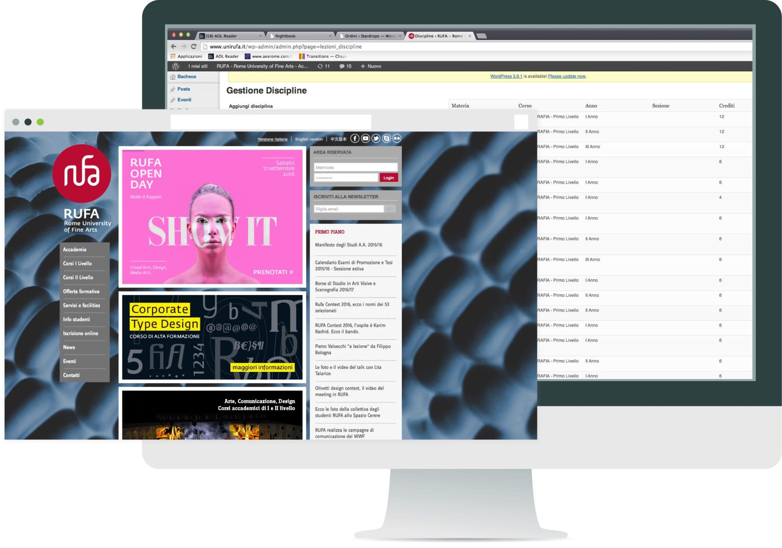 rufa-website_backend_panel