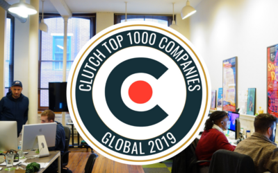 We are Recognized on Clutch Top 1,000 List