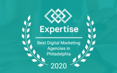 Expertise Named us a Top 33 Digital Marketing Agency in Philadelphia