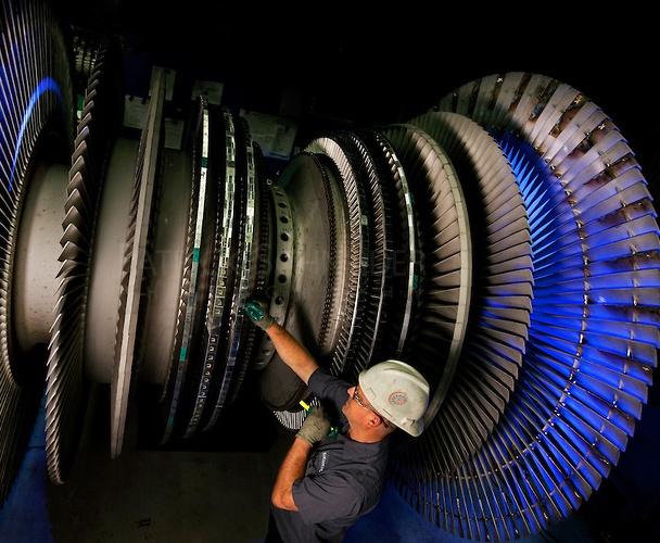 Turbine worker