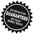 Surgi-Sharp Satisfaction Guaranteed Logo