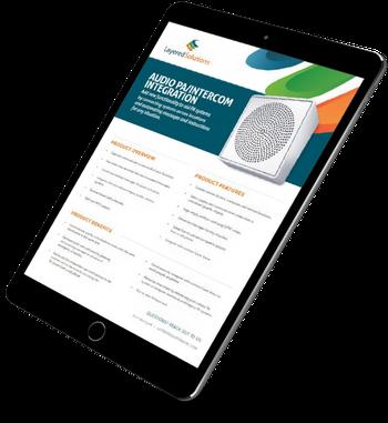 brochure audio pa