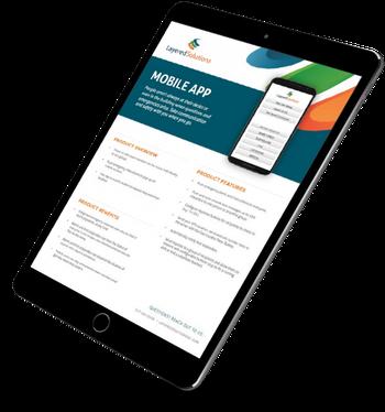 brochure mobile app