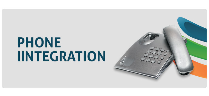 phone integration banner