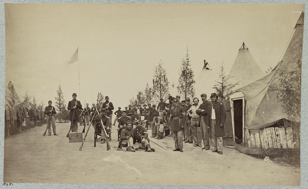 Campsite of 153rd Infantry