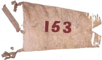 Battle flag of the 153rd New York Regiment