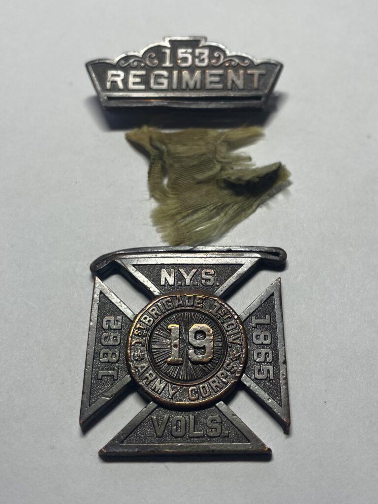 Membership Medal 153rd Regiment New York Volunteers