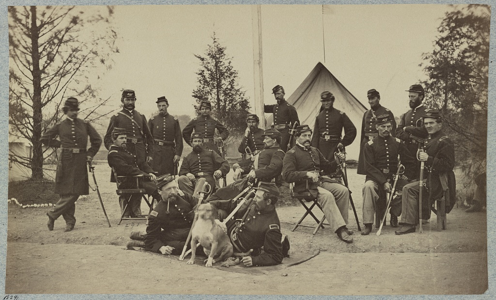 Officers of the 153rd NY Infantry