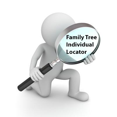 Individual Family Tree Locator