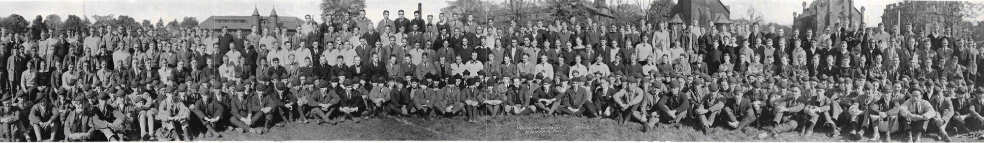 Wesleyan University 1922-1923