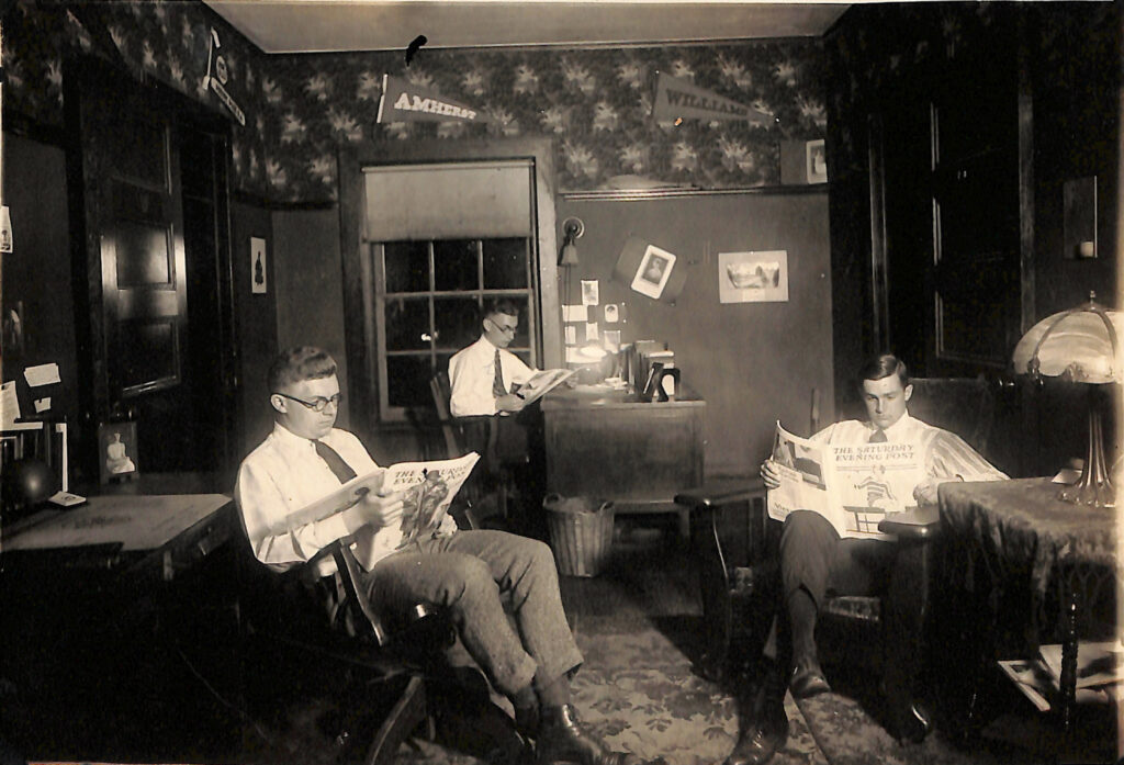 Weslyan Sigma Nu Fraternity House 1922
