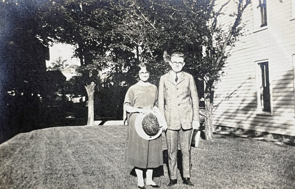 Evelyn and Harold 1925